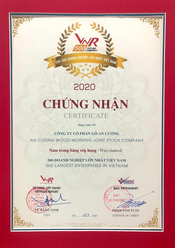 The 500 LARGEST ENTERPRISES IN VIETNAM
