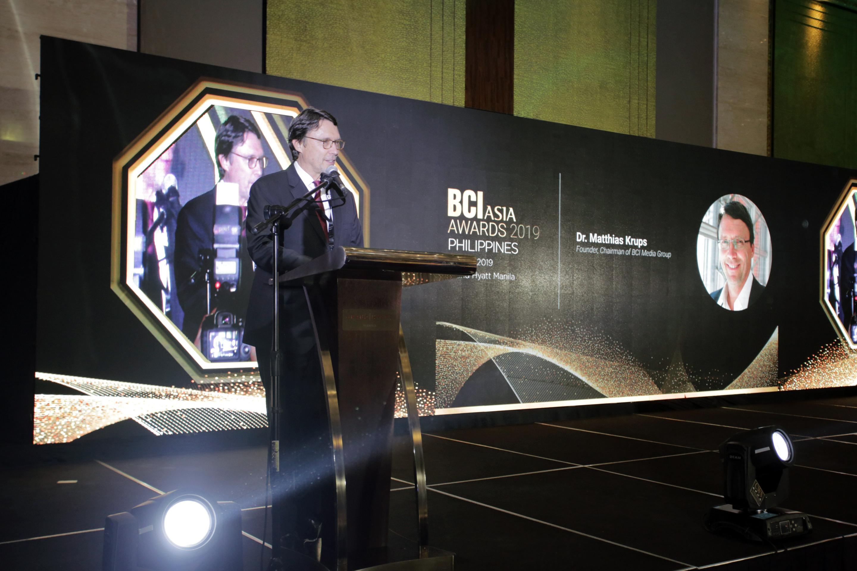 BCI ASIA AWARDS 2019 PHILIPPINES