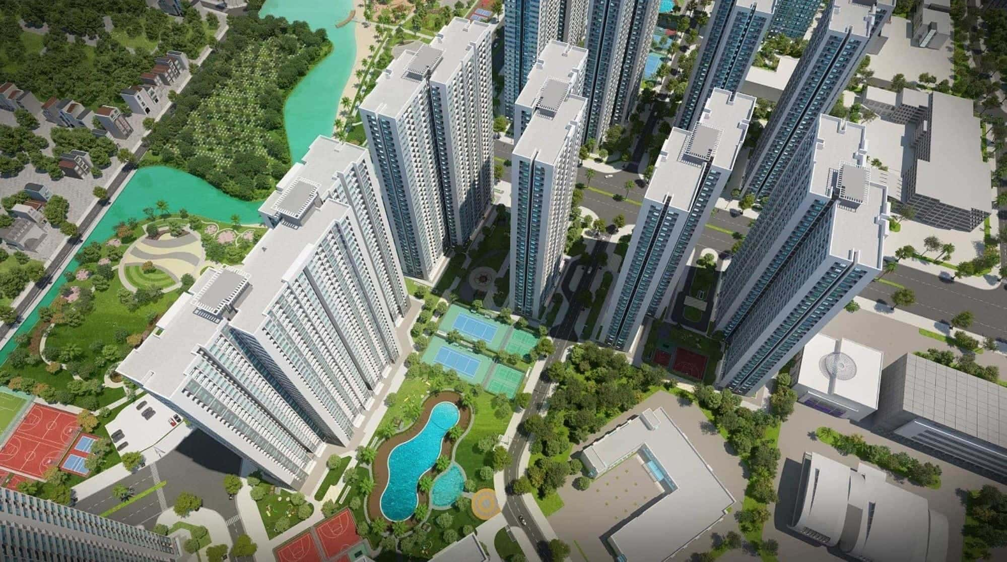 VINHOMES SMART CITY (ROYAL) - CĂN HỘ 2 PHÒNG NGỦ