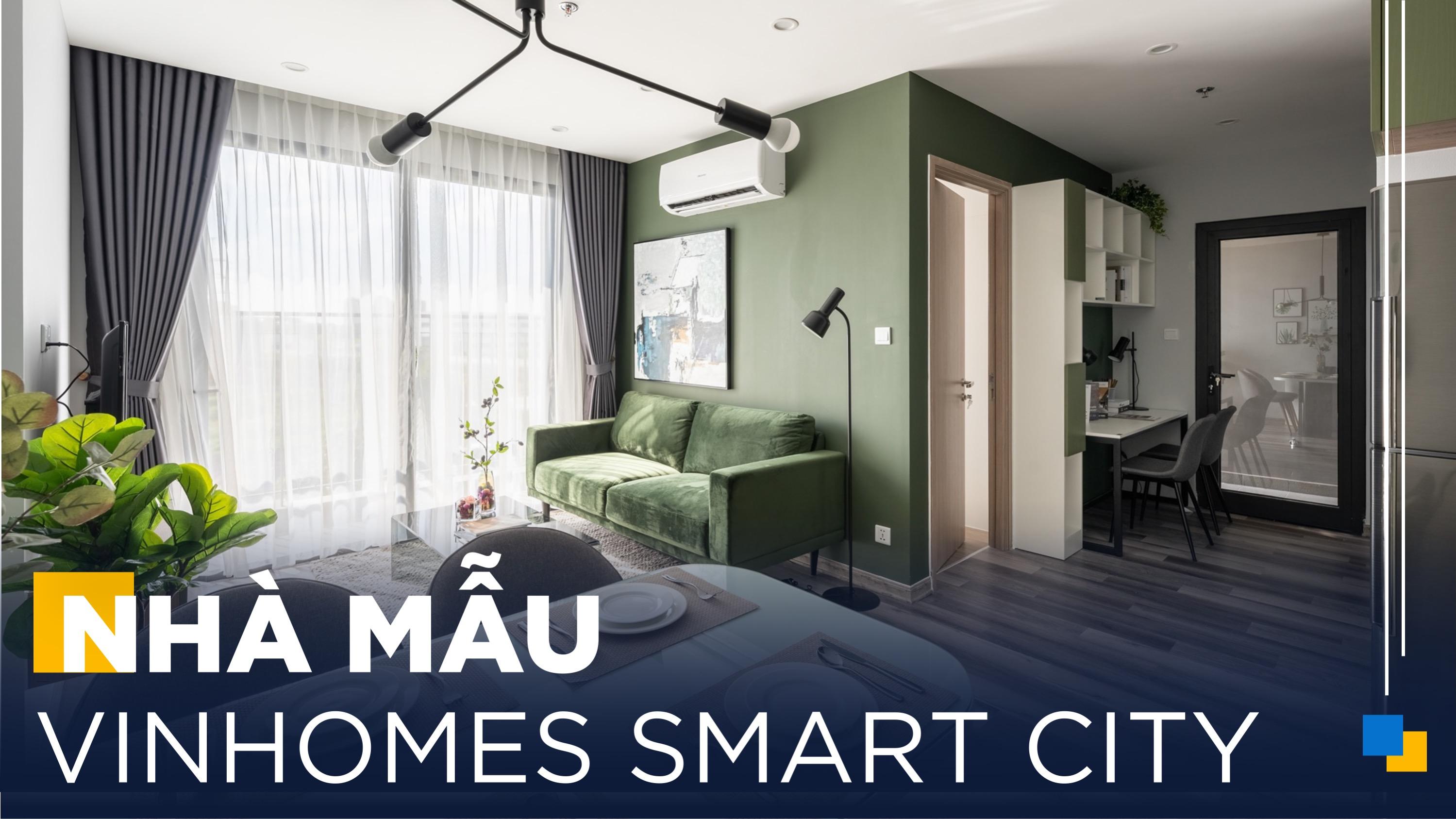 """Gỗ An Cường   Căn Hộ 2 Phòng Ngủ """"Siêu Tiện Nghi"""" Tại Vinhomes Smart City"""