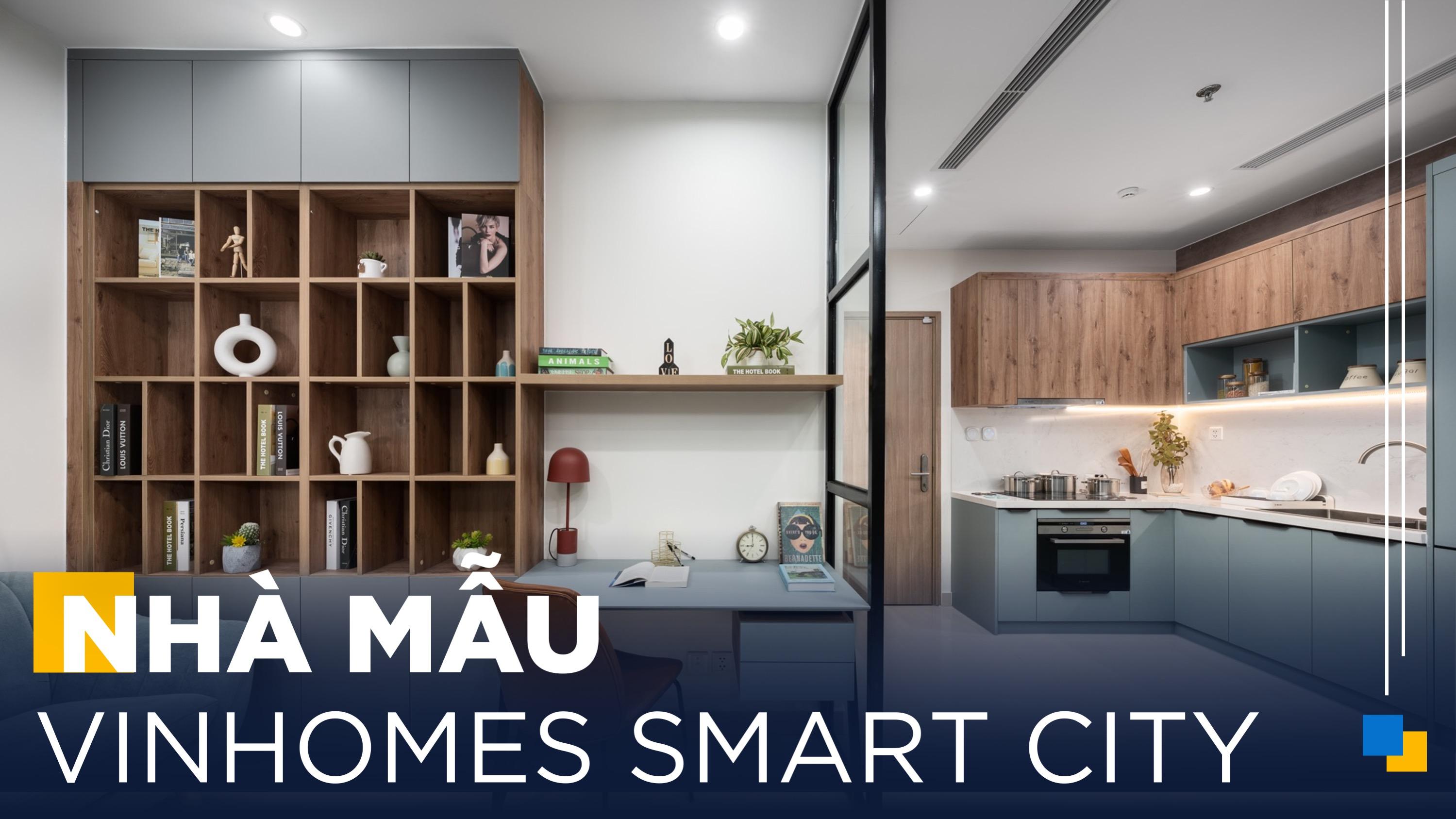 Gỗ An Cường   Thiết Kế Căn Hộ 1 Phòng Ngủ Siêu Hợp Lý Tại Vinhomes Smart City