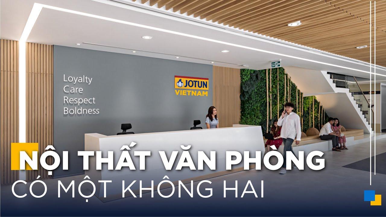 Đỉnh Cao Nội Thất Văn Phòng - Jotun Vietnam   Gỗ An Cường x ADP Architects