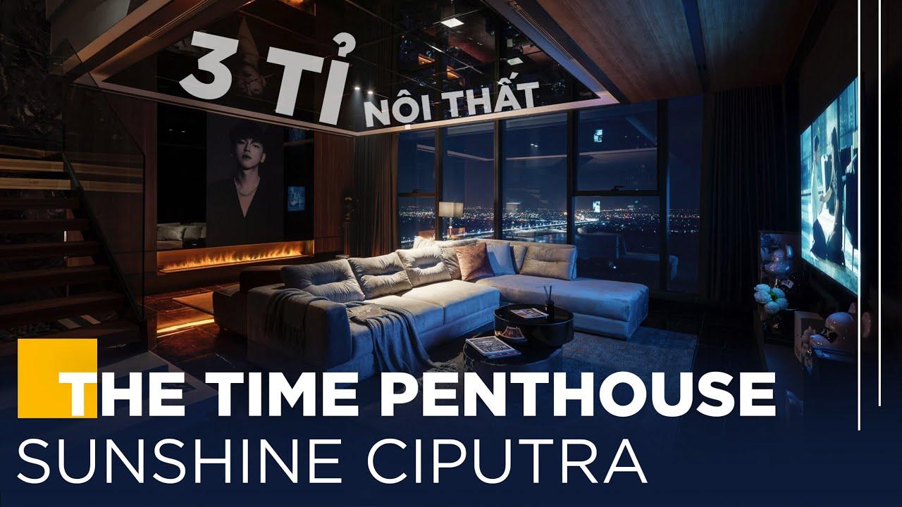"""Chiêm Ngưỡng Nội Thất Penthouse Của """"Hot Boy"""" Hà Thành   Gỗ An Cường x Indust Design"""